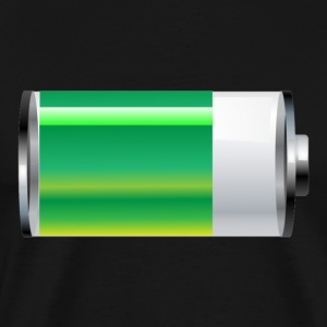 Battery power - Men's Premium T-Shirt