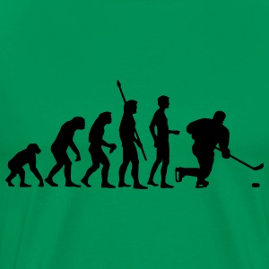 Sage evolution_eishockey_b T-Shirts - Men's Premium T-Shirt