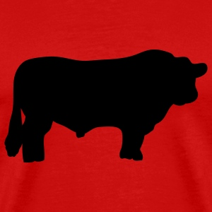Red bull black angus T-Shirts - Men's Premium T-Shirt
