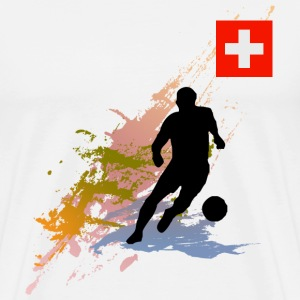 Switzerland Supporter - Men's Premium T-Shirt