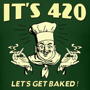 LETS GET BAKED - Men's T-Shirt