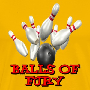 Yellow Balls of Fury T-Shirts - Men's Premium T-Shirt