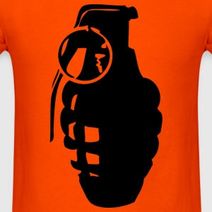 Orange grenade T-Shirts - Men's T-Shirt