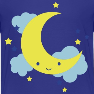 Royal blue moon Kids' Shirts - Kids' Premium T-Shirt