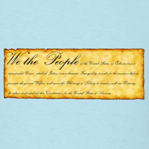 Sky blue We the People T-Shirts - Men's T-Shirt