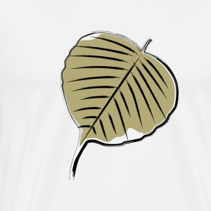 Bodhi leaf 01 - Men's Premium T-Shirt