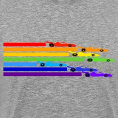 Ash  Rainbow Racers T-Shirts