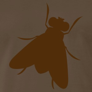 Brown a blow fly T-Shirts - Men's Premium T-Shirt