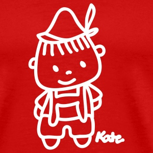 Red Little Boy T-Shirts - Men's Premium T-Shirt