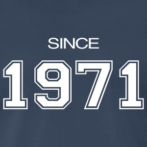 Navy birthday gift 1971 T-Shirts - Men's Premium T-Shirt