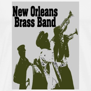 New Orleans Brass Band - Men's Premium T-Shirt
