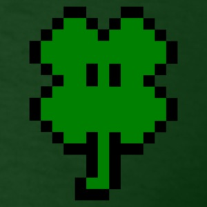Small 8-Bit Clover - Men's T-Shirt