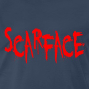 Navy Scarface T-Shirts - Men's Premium T-Shirt