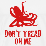 Design ~ White Octopus Don't Tread On Me