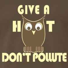 Give a HOOT, Don't Pollute