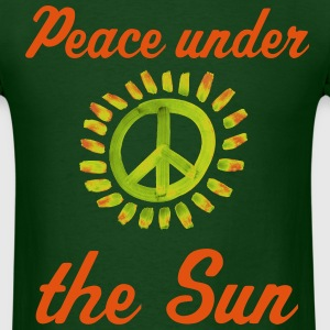 Peace under the Sun Tee - Men's T-Shirt