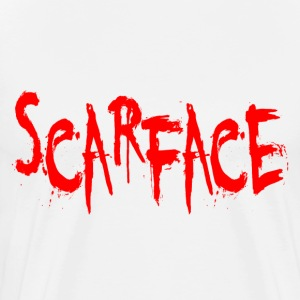 White Scarface T-Shirts - Men's Premium T-Shirt