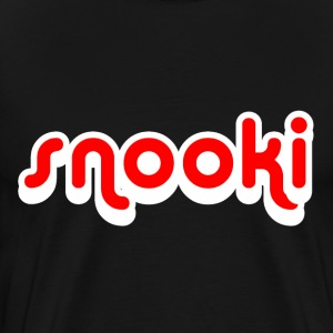 Black Snooki T-Shirts - Men's Premium T-Shirt