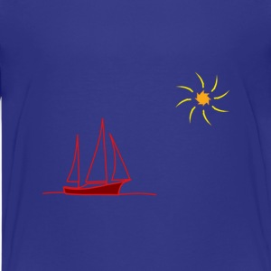 Children's T-Shirt Boat - Kids' Premium T-Shirt