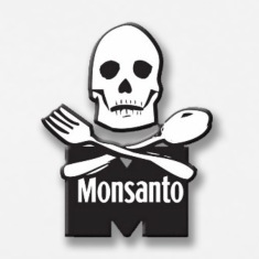 Monsanto bones knife and fork