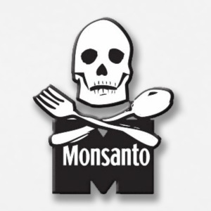 Monsanto bones knife and fork - Men's Premium T-Shirt