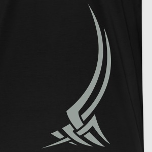 Black Tribal design 01 T-Shirts - Men's Premium T-Shirt