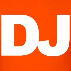 Orange DJ T-Shirts - Men's T-Shirt