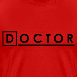 Red Doctor House T-Shirts - Men's Premium T-Shirt