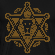 Design ~ Regal Jewlion Black/ Jewgold GLITZ (menz)