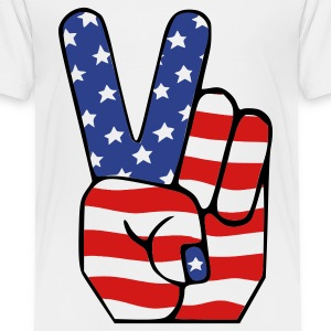 White peace Toddler Shirts - Toddler Premium T-Shirt