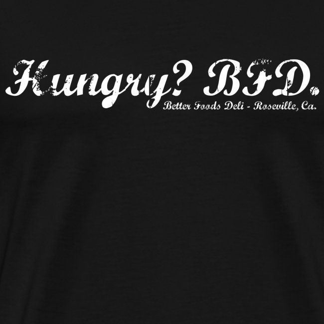 Hungry? - White Text
