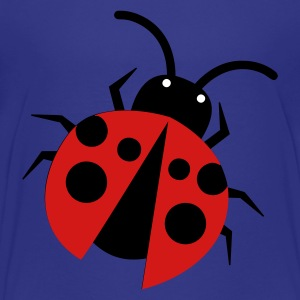 Turquoise pretty little ladybird right Kids' Shirts - Kids' Premium T-Shirt