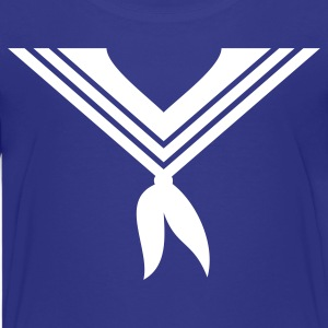 Royal blue sailor collar (1c) Kids' Shirts - Kids' Premium T-Shirt