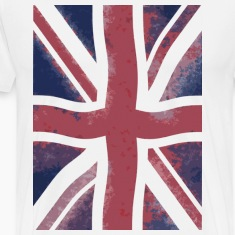 White grunge flag T-Shirts