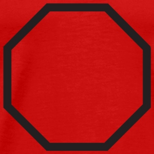 Red octagon T-Shirts - Men's Premium T-Shirt