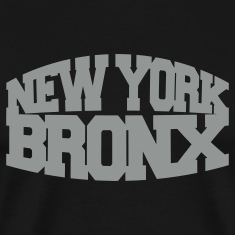 Black new york bronx T-Shirts