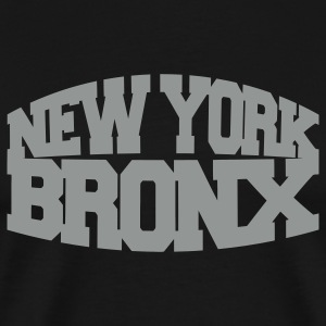 Black new york bronx T-Shirts - Men's Premium T-Shirt