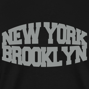 Black new york brooklyn T-Shirts - Men's Premium T-Shirt