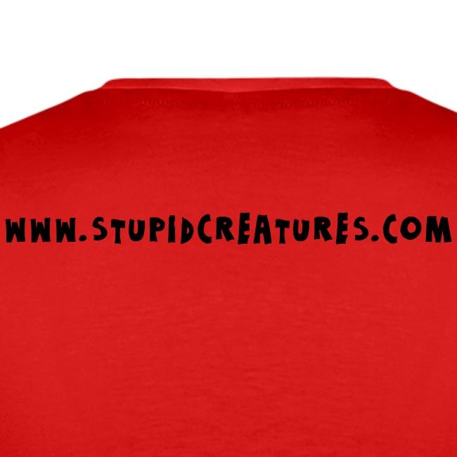 Stupid Creatures Black Logo for Men