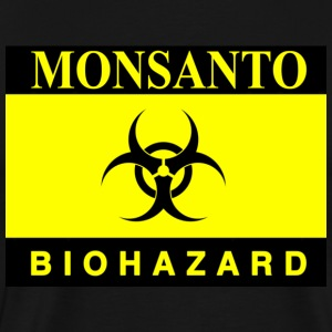 Biohazard monsanto gasmask, 3XL  - Men's Premium T-Shirt