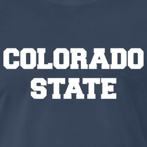 Navy colorado state T-Shirts - Men's Premium T-Shirt