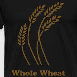 Whole Wheat in Gold - Men's Premium T-Shirt