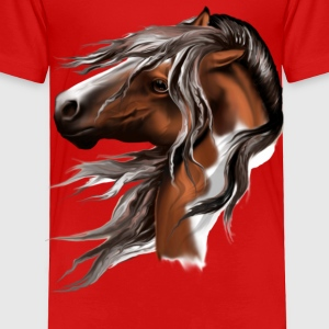 Paint Horse Face - Toddler Premium T-Shirt
