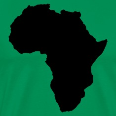 Kelly green AFRICA  T-Shirts