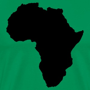 Kelly green AFRICA  T-Shirts - Men's Premium T-Shirt