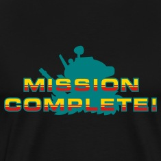Black Mission Complete! T-Shirts