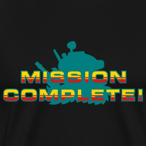 Black Mission Complete! T-Shirts - Men's Premium T-Shirt