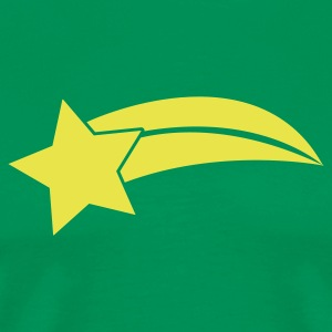 Kelly green SHOOTING STAR T-Shirts - Men's Premium T-Shirt