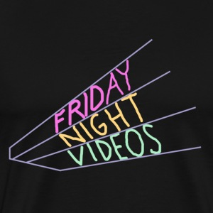 Friday Night Videos - Men's Premium T-Shirt