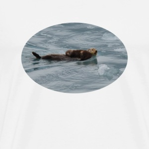 Sea Otter & Pup - Men's Premium T-Shirt